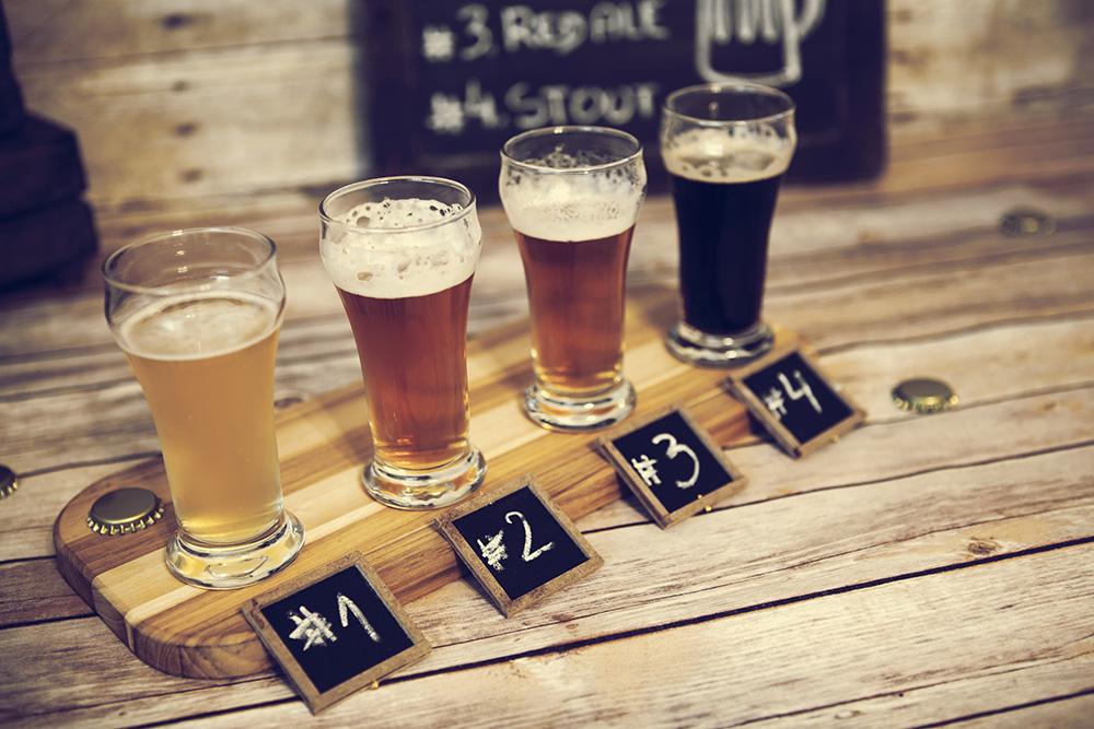 Dégustation type de bière