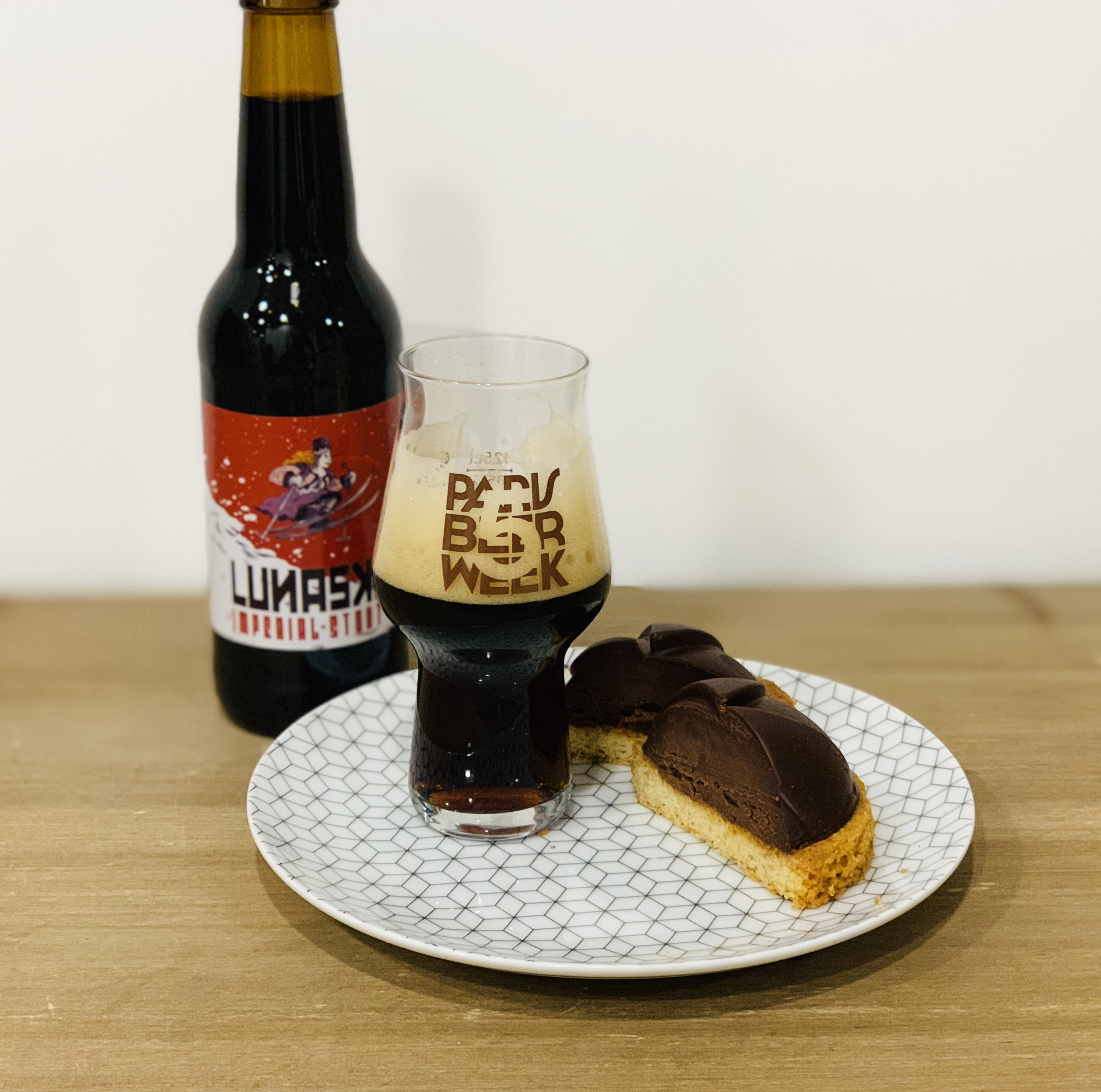 Accord tarte chocolat & bière impérial stout