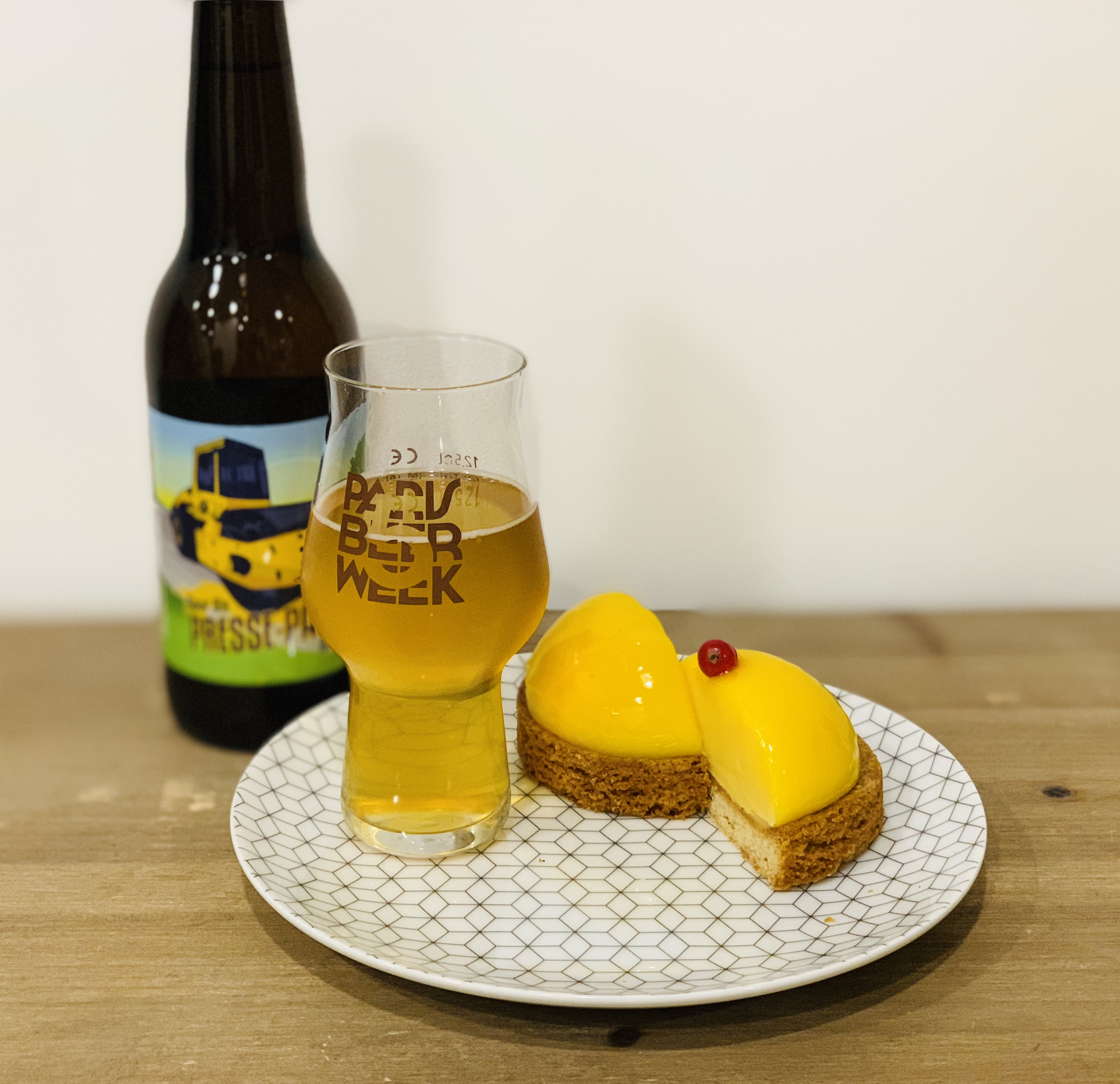 Accord tarte sucrée & bière acide passion